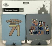 Disney Parks Beverage Holder Set Koozie WDW 71 Mickey Mouse fab 5 - NEW