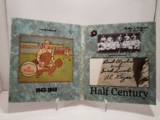 2020 Historic Autographs Half Century Al Kozar Cut Auto