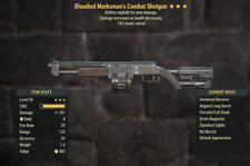 Fallout 76 (PC) Bloodied Explosive Shotgun 15% Reload [MODIFIED]