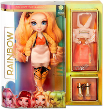 Rainbow High Poppy Rowan Fashion Doll & Designer Clothes Accessories and Stand