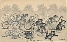 More details for loius wain postcard - a road race ! 1910