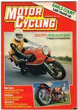 November Motor Cycling Magazines in English
