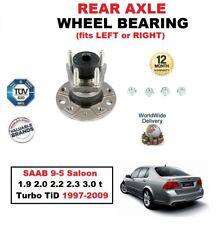 für Saab 9-5 Limousine 1.9 2.0 2.2 2.3 3.0 T Turbo TiD 1997-2009 Hinterradlager