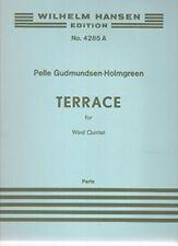Terrace for Wind Quintet - Parts / pour Quintette à Vent: Basson, Clarinette