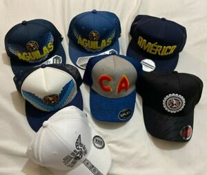 Aguilas Del America Club América Soccer club Gorras Nueva Temporada , new hats,