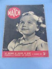 Revue MATCH du 21 décembre 1939 NOEL BYRD GENEVE HELSINKI