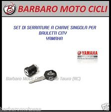 KIT SERRATURE CHIAVE BAULETTO CITY 39 e 50 litri YAMAHA TOP CASE LOCK MT-09 TMAX
