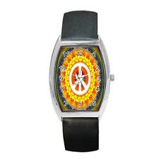 Reloj de Pulsera signo de la Paz Paloma Blanca Estilo Hippy Barril Para Damas/Niñas ** ** elemento precioso
