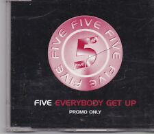 Five-Everybody Get Up promo cd single