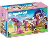Playmobil - Princess - 6856 - Royal Couple with Horse-Drawn Carriage - Brand NEW