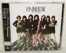 RAINBOW Over The Rainbow Taiwan Ltd CD+DVD (Japanese Lan.)