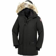$2300 CANADA GOOSE Men BLACK DOWN FUR HOOD PARKA JACKET WINTER COAT SIZE L