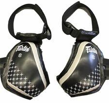 Fairtex Compact Thigh Pads - TP4 - Black & Grey