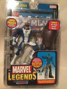Marvel Legends 2005 Angel Blue Variant Sentinel Series BAF ToyBiz New.
