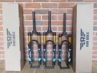 Mountain Bike Suspension Fork XC32A 100 to 120mm Ultralight Shocks 26in Air Bike