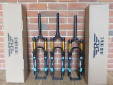 Air Suspension Fork 100to140mm Ultralight Shocks 26in MTB Mountain Air Bike