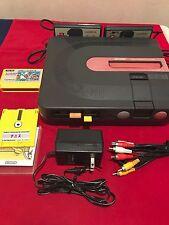 Sharp Twin Famicom AN-500B console system japan full working