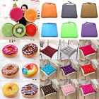 Soft Fruit Donut Seat Pad Office Dining Room Chair Cushions Tie On Pillows Decor