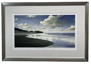 """Evening Clouds, Frenchman's Beach"" by Bruce Buchanan #19/50, 30256"