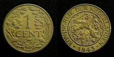 Netherlands - 1 Cent 1943 Zeer Fraai+