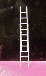 """ONE HIGHLY DETAILED SIMULATED """"ALUMINUM LADDER"""" 1:24 G SCALE DIORAMA"""