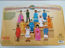 Lakeshore Learning Block Play People Kids Around The World New
