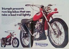 Triumph Trail Blazer 250 1971 VINTAGE magazine print ad