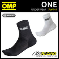 IAA/749 OMP ONE FIREPROOF SOCKS PROFESSIONAL MOTORSPORT FIA APPROVED NOMEX OMP