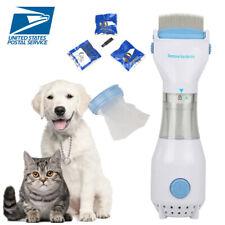 Electric Vacuum Head Lice Comb Brush Pet Dog Flea Filter Remover wutg 3 Filters