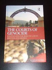THE COURTS OF GENOCIDE Rwanda & Arusha 2009 Jones NEW
