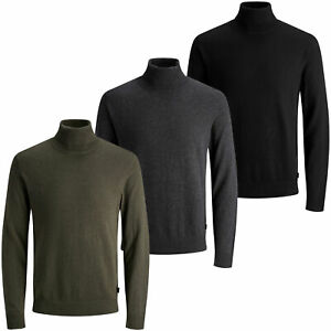 Jack & Jones Men's 'JJEEMIL' Roll Neck Jumper
