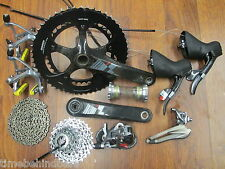 SRAM RED 172.5 130 BCD 53/39 GXP 2 X10 SPEED GROUP BUILD KIT GRUPPO