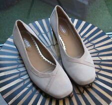 Hotter Suede Court Casual Heels for Women