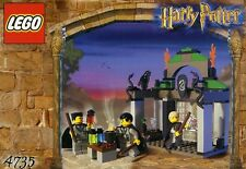 LEGO HARRY POTTER 'SLYTHERIN' 4735 DRACO, CRABBE & GOYLE 100% COMPLETE GUARANTEE