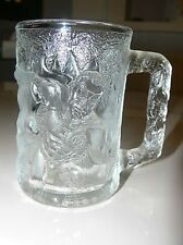 McDonalds ROBIN Promotional BATMAN FOREVER 3-D Glass Mug 1995