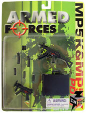 In Toyz Armed Forces 1/6 Scale H.K. PDW, MP5K W/CARRYING CASE