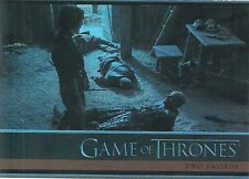2015 Game of Thrones Season 4 Foil Parallel Card # 3 Two Swords