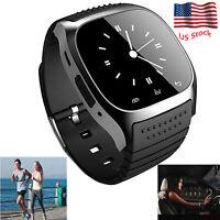 Bluetooth Smart Watch Wristwatch For Samsung Galaxy Note 9 8 S8 S9 S9+ LG V30 Q6