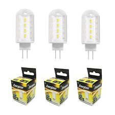 3 Pack Energizer 2w=20w G4 Fitting Capsule LED Energy Saving Light Fitting Bulbs