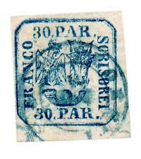 Rumänien, Fürstentum, Principality of Romania,1862,  Mi 10 I,