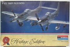MONOGRAM 6063 - F-82 TWIN MUSTANG - 1:72 - Flugzeug Modellbausatz - Model Kit