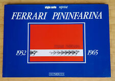 "Buch ""Ferrari Pininfarina 1952 1965"", Giorgio Nada, 1990"