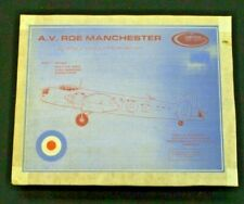 Contrail 1/72nd Scale A.V. Roe Manchester Vacu-Form Model Airplane Kit