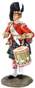 William Britain Museum Collection 78th Highland Regiment Drummer 1870 10046