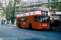 London Transport DMO6 Victoria Gardens 11th May 1978 Bus Photo B
