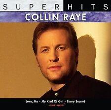 "COLLIN RAYE, CD ""SUPER HITS"" NEW SEALED"