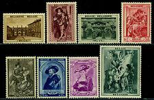 Belgium 1939 Rubens House,Paintings,Harrewyn,Antwerp,Portico,Wives,Mi.506,MNH