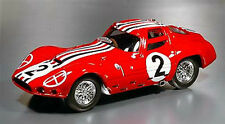 CB15 Maserati 151 Le Mans 1962 Red 1/43 Scale New on Plynth