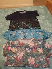 Easy Mens XL T Shirt Patterned x3