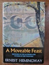 A Moveable Feast by Ernest Hemingway (1988, Hardcover) Jane Kramer Introduction